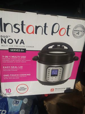 10 quart instant pot multiple cooker brand new in box for Sale in Los Angeles, CA