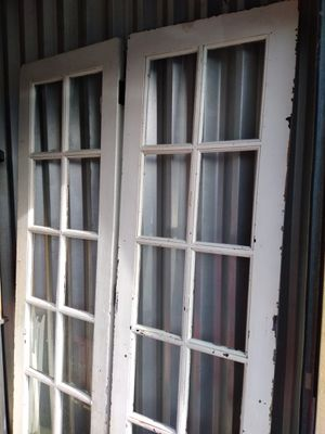 Antique White Vintage French 7ft Tall Doors for Sale in Lexington, KY