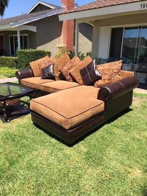 L Shape Living Room With Coffe Table Like New for Sale in Costa Mesa, CA