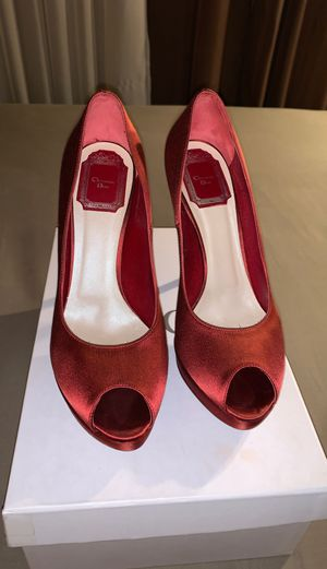 Authentic Dior red pumps for Sale in Glendale, CA
