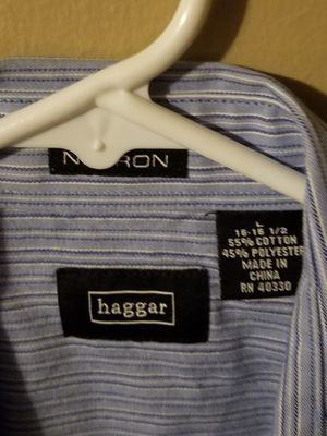 Haggar dress shirt for Sale in Millville, NJ