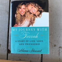 Like New Book 📖 The Life Of Farrah Fawcett By Alana Stewart for Sale in Mesquite,  TX