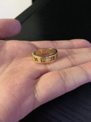 Tiffany Gold Atlas Ring for Sale in Watertown, MA