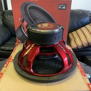 Ds 18 Car Audio 15 Inch Car Stereo Subwoofer . 2500 watts . New Years Super Sale $259 Each While They Last . New for Sale in Mesa, AZ