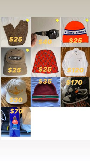 Supreme, Stussy, Nikesb , FTP , Marc Jacobs ,Carhartt wip for Sale in Los Angeles, CA