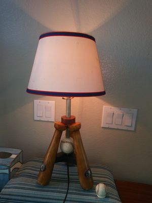 Baseball bat& ball TableLamp for Sale in Highland, CA