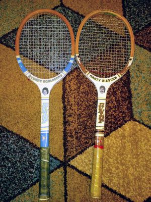 2 Vintage Dunlop Wooden Tennis Rackets for Sale in South Portland, ME
