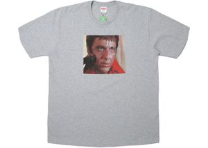 Supreme Scarface Shower Tee Heather Grey for Sale in Chattanooga, TN