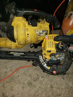 2 leaf blower parts or repair for Sale in Chicago, IL