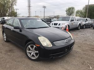 2004 infinity g35x‼️‼️PARTS ONLY‼️‼️ for Sale in Chicago, IL