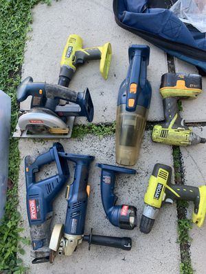 Ryobi tools.. No charger for Sale in Hollywood, FL