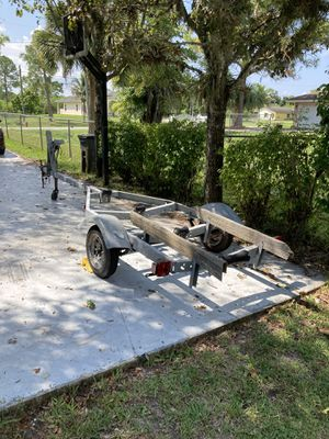 Galvanized Boat trailer for up to 18' boat for Sale in Lake Worth, FL