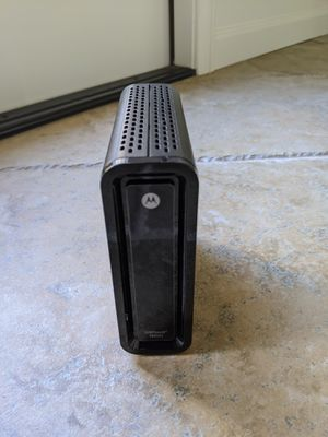 Motorola surfboard sb6121 cable modem for Sale in Escondido, CA