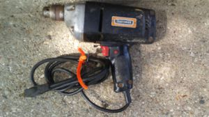 Vintage working Craftsman ball bearing electric drill with reverse for Sale in Madison, WI