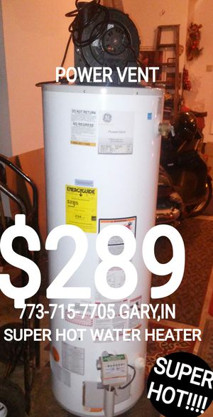 773-715-77O.FIVE GARY,IN GARY,IN Stove Gas Hot water heater electric gas furnace washer dryer refrigerator fridge ceil lights light chandelier for Sale in Chicago, IL