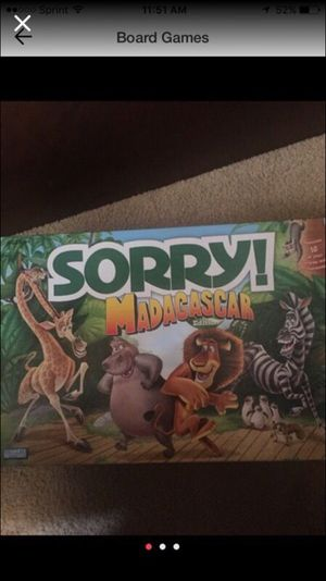 Sorry board game for Sale in Charlotte, NC