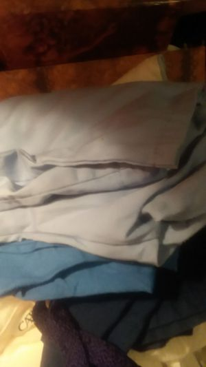 Free size extra large scrub pants navy blue,blue and light blue for Sale in Gulfport, MS