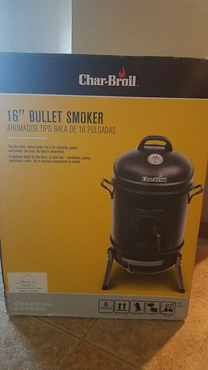 Char-broil bullet smoker for Sale in South Sioux City, NE