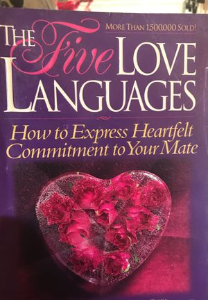 Five love languages book for Sale in Bakersfield, CA