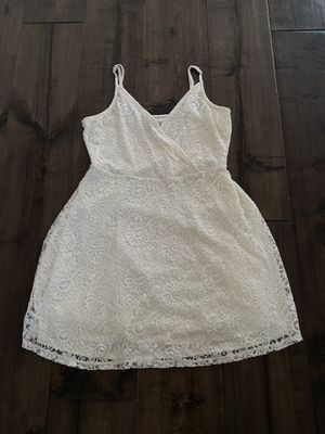 white lace dress size small for Sale in Chino Hills, CA