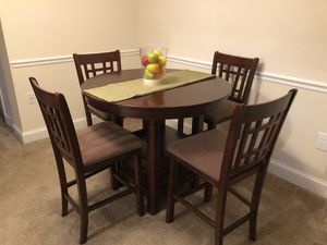 MOVING SALE: WOOD DINING SET for Sale in Alexandria, VA