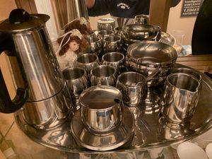 AMC art design coffee/tea set for Sale in North Miami, FL
