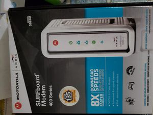 Motorola modem for Sale in Lemon Grove, CA