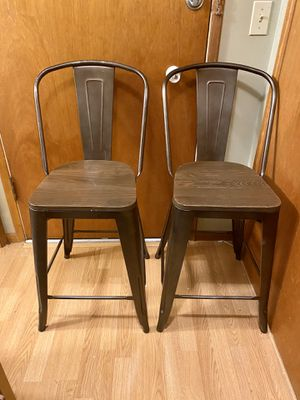 Three counter chairs 24in for Sale in Seattle, WA
