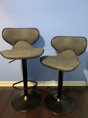 Adjustble swivel bar chair set 2(brand new) for Sale in La Vergne, TN