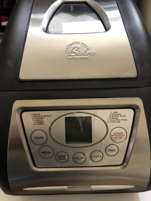 Wolfgang Puck Bistro Electric Bread Maker for Sale in West Covina, CA