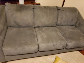Blue/ grey couch for Sale in St. Louis,  MO