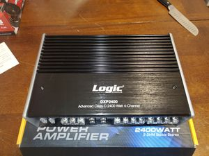 4 Channel Class D Micro Power Amplifier 2400W 2 ohm Audio Amp for Sale in The Bronx, NY
