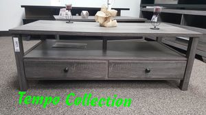 NEW, Dutto Coffee Table, Distressed Grey, SKU 151464CT, SKU# 161564CT for Sale in Huntington Beach, CA