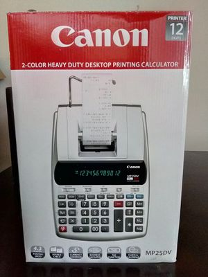Canon printing calculator for Sale in Lynwood, CA