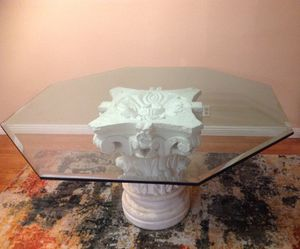 High End Dining Table with 5 chairs - Very Heavy for Sale in Las Vegas, NV