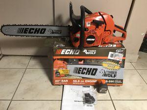 ECHO 20 in. 59.8cc Gas Chainsaw for Sale in Dearborn, MI