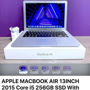 Cash only, Apple MacBook Air 13inch 2015 8gb ram core i5 for Sale in Brooklyn, NY