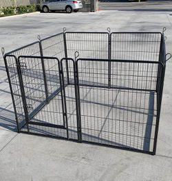 """New 40"""" Tall x 32"""" Wide Panel Heavy Duty 8 Panels Dog Playpen Pet Safety Fence gate valla Para perros (tarp not included) for Sale in South El Monte,  CA"""