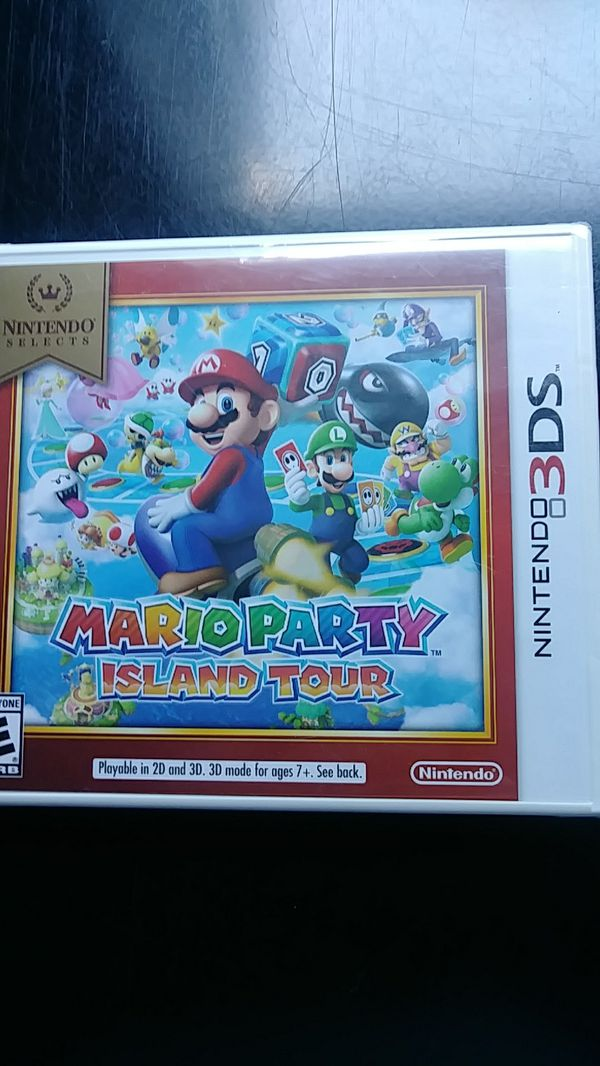 Nintendo selects Mario party island tour unopened