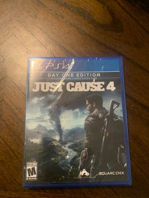 Just cause 4 new in the box and with the plastic without open for Sale in Perris, CA