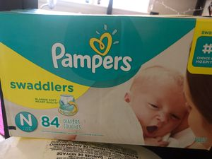 Newborn pampers for Sale in Norfolk, VA