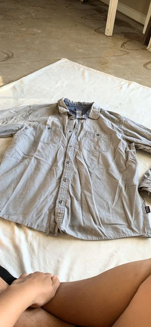 Patagonia organic Cotten button down shirt for Sale in Fresno, CA