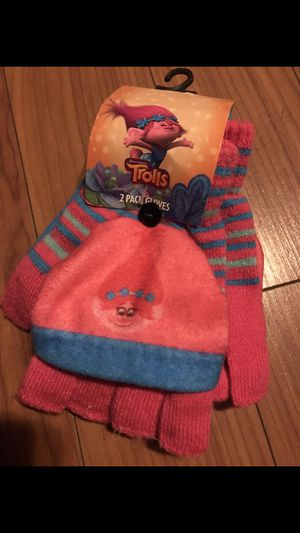 Trolls kids glove set for Sale in Los Angeles, CA