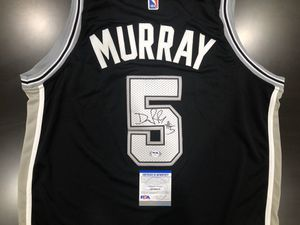 DeJounte Murray Autograph | Signed San Antonio Spurs Jersey PSA/DNA COA for Sale in Sacramento, CA