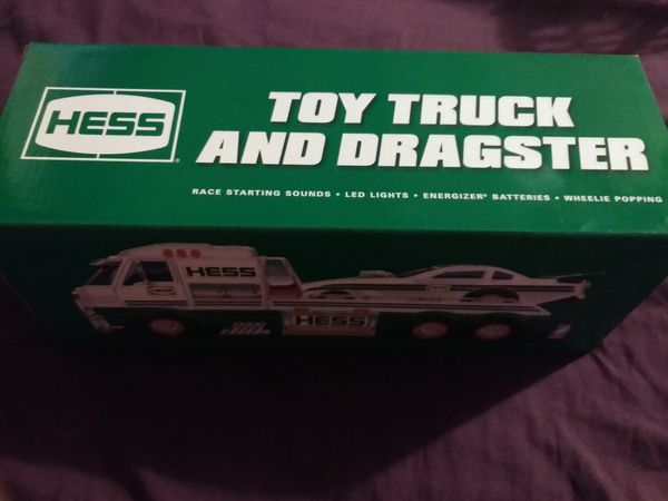 Hess truck and dragster