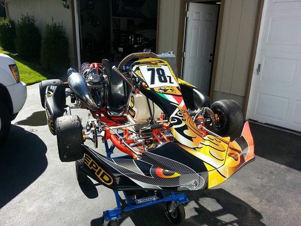 Shifter Kart Intrepid Suzuka 125cc Honda for Sale in Vancouver, WA - OfferUp