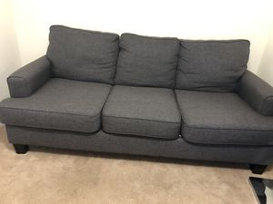 Gray Couch for Sale in Charlottesville, VA