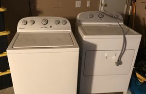 Whirlpool washer and electric dryer for Sale in Perris, CA