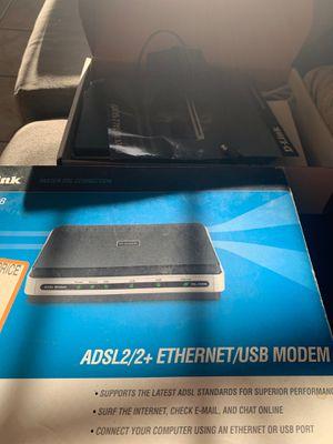 D link dsl modem for Sale in Los Angeles, CA