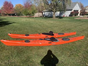 Two Sea Kayaks for Sale Delphin 150 and 155 for Sale in Downers Grove, IL